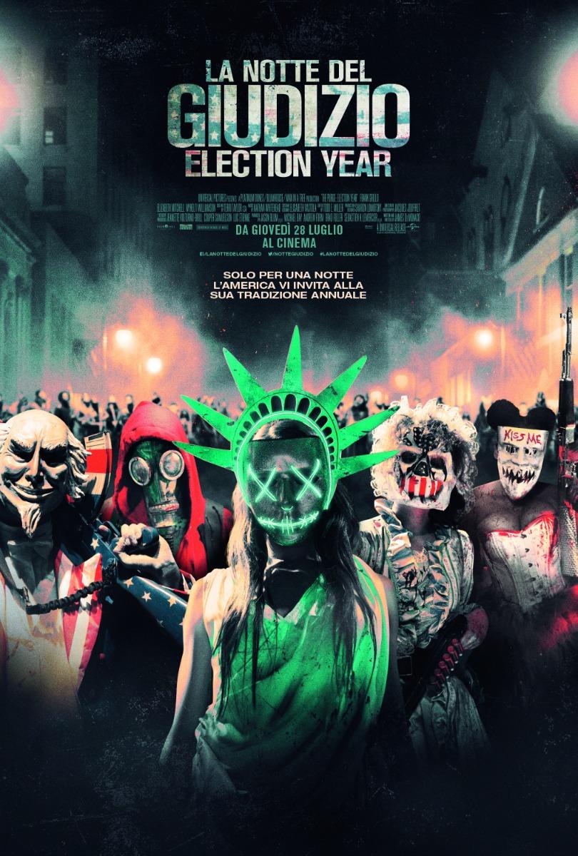 La Notte del Giudizio: Election Year 3 (2016)