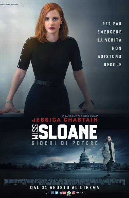 Miss Sloane – Giochi di Potere (2017)