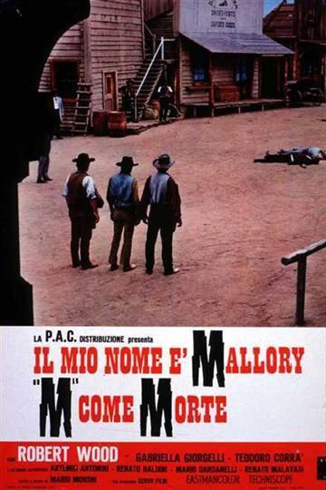 """Il mio nome è Mallory """"M"""" come morte (1972)"""